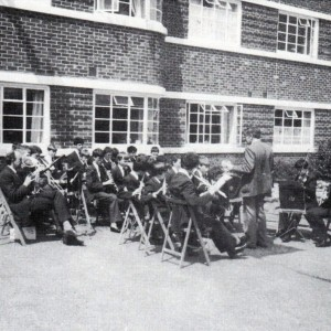 Homefield College Orchestra at the Annual Fete 1983