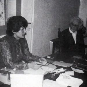 Matron ponders a problem 1983