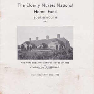 RNNH Annual Report 1938