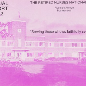 RNNH Annual Report 1982
