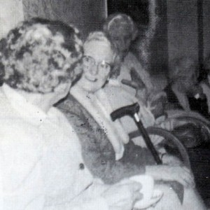 Vice-Chairman at a residents gathering 1983