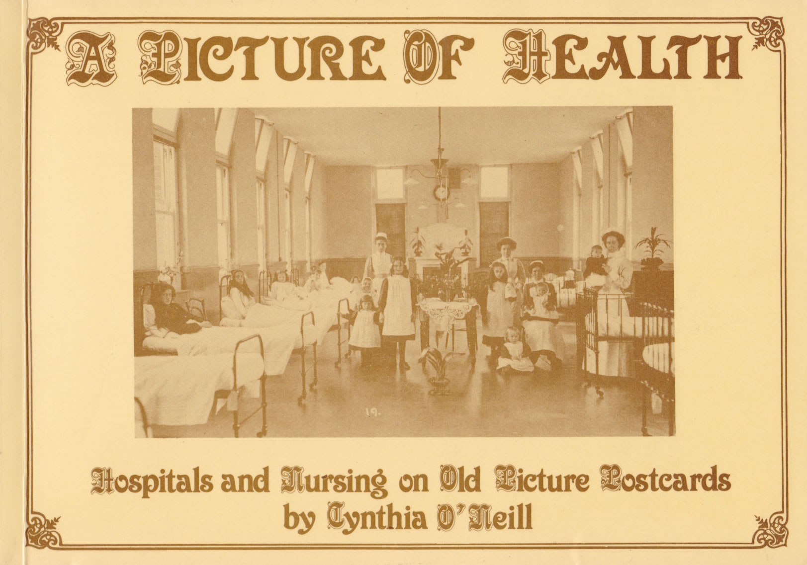 The cover of A Picture of Health by Cynthia O'Neill