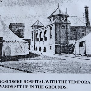 Boscombe Hospital - photo by Daily Echo