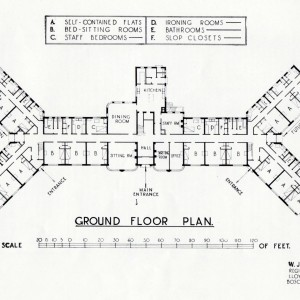 ground floor plan of RNNH