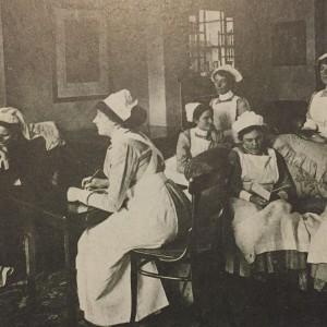 Nurses sitting room c. 1915
