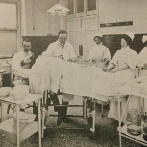 Operating theatre c. 1905