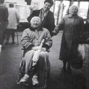 residents' Christmas visit to Haskins 1997