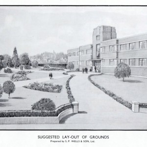 suggested layout of RNNH grounds
