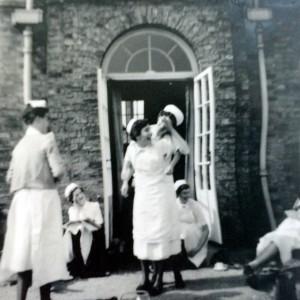 two nurses in one uniform