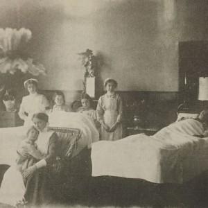 Ward scene c. 1900